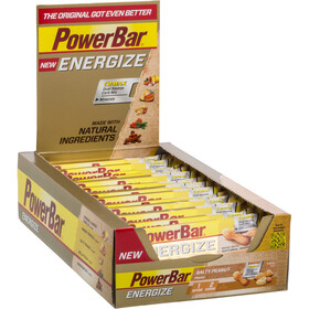 PowerBar New Energize Sports Nutrition Salty Peanut 25 x 55g yellow/brown